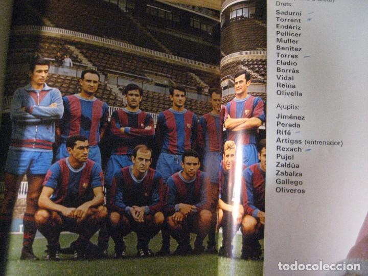 Coleccionismo deportivo: historia del futbol català . j. garcia ed ayma. 1era ed. 1968 fotos escudos desplegables 487 pag - Foto 10 - 221562401