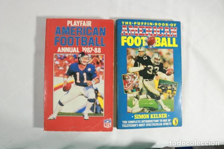 LOTE DE DOS LIBROS DE FUTBOL AMERICANO (Coleccionismo Deportivo - Libros de Fútbol)