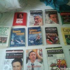 Coleccionismo deportivo: EXCELENTE LOTE LIBROS FÚTBOL. AÑOS 90. HISTÓRICOS.. Lote 221627780