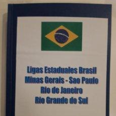 Coleccionismo deportivo: LIGAS ESTADUAIS DO BRASIL. Lote 221713627