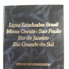 Coleccionismo deportivo: LIGAS ESTADUAIS DO BRASIL. Lote 221713972