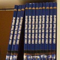 Coleccionismo deportivo: CIEN AÑOS DEL REAL MADRID. 1902 - 2002. 12 PRIMEROS VOLÚMENES. Lote 221858567
