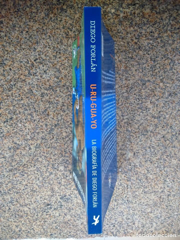 Coleccionismo deportivo: LA BIOGRAFIA DE DIEGO FORLAN -- URUGUAYO -- 2010 - EDITOR EL TERCER HOMBRE -- - Foto 4 - 222103818