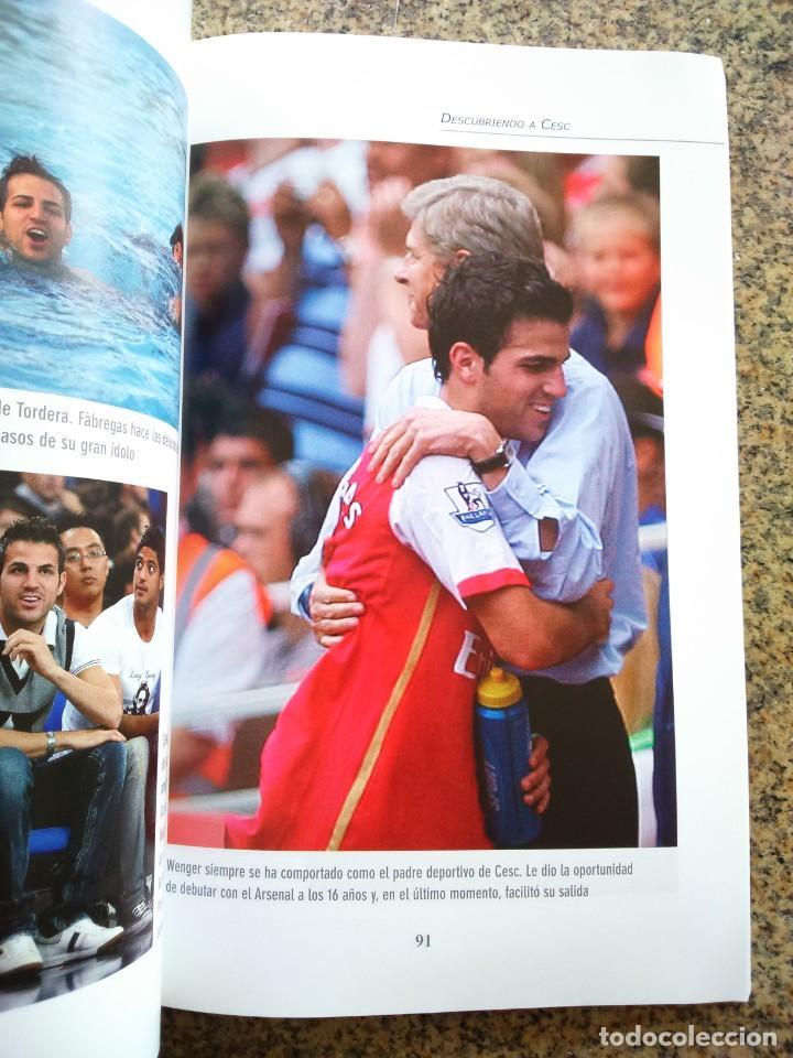 Coleccionismo deportivo: DESCUBRIENDO A CESC FABREGAS - 35 MIRADAS -- JORDI GIL -- COLECCION SPORT 2012 -- - Foto 2 - 222104201