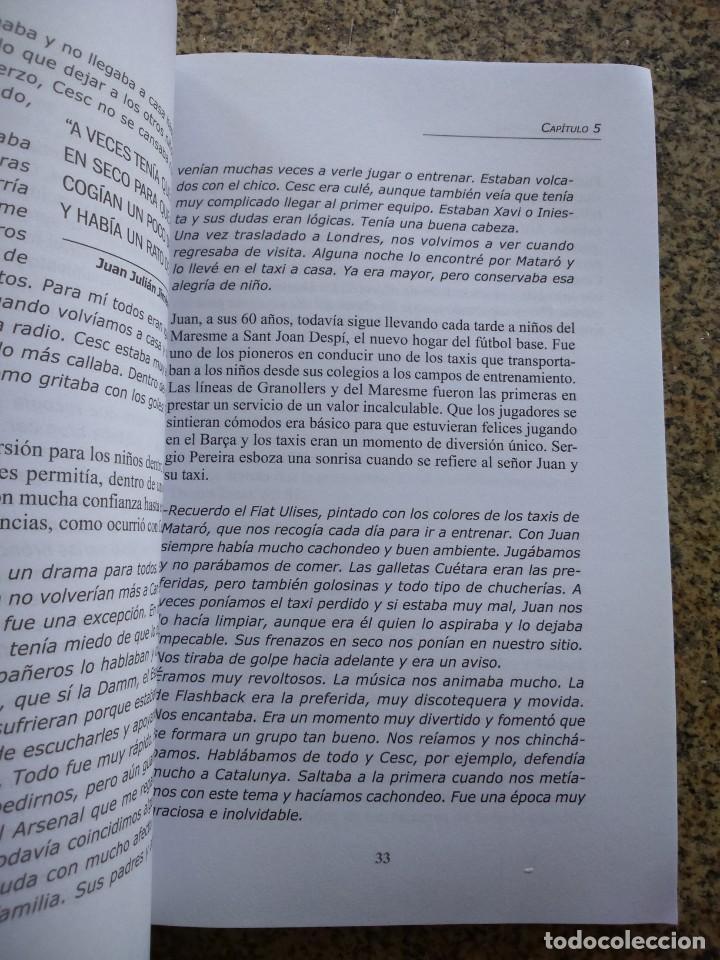 Coleccionismo deportivo: DESCUBRIENDO A CESC FABREGAS - 35 MIRADAS -- JORDI GIL -- COLECCION SPORT 2012 -- - Foto 4 - 222104201