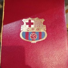 Coleccionismo deportivo: BARÇA BARÇA BARÇA. HISTORIA DE FUTBOL CLUB.BARCELONA.GRAN ENCICLOPEDIA VASCA.1971.AGUSTI MONTAL COST. Lote 222106995