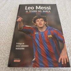 Coleccionismo deportivo: (LLL) LIBRO-LEO MESSI EL TESORO DEL BARÇA. Lote 222143135