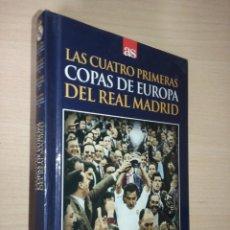 Coleccionismo deportivo: LAS CUATRO PRIMERAS COPAS DE EUROPA DEL REAL MADRID (LIBRO +DVD). Lote 222354715