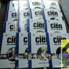 Coleccionismo deportivo: RELAÑO, ALFREDO/ VARIOS AUTORES: CIEN AÑOS DEL REAL MADRID (16 VOLS). Lote 222639547