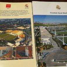 Coleccionismo deportivo: CONVENIO URBANÍSTICO REAL MADRID Y LIBRO CIUDAD DEPORTIVA R MADRID. Lote 222824897