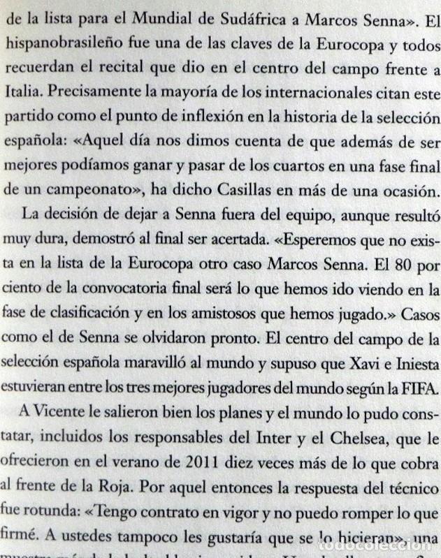 Coleccionismo deportivo: LA ROJA POR DENTRO LIBRO SELECCIÓN ESPOÑOLA DE FÚTBOL MUNDIAL SUDÁFRICA DEPORTE ÍDOLOS INIESTA RAMOS - Foto 8 - 223392977