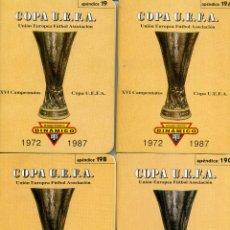Coleccionismo deportivo: COPA UEFA. Lote 223783250