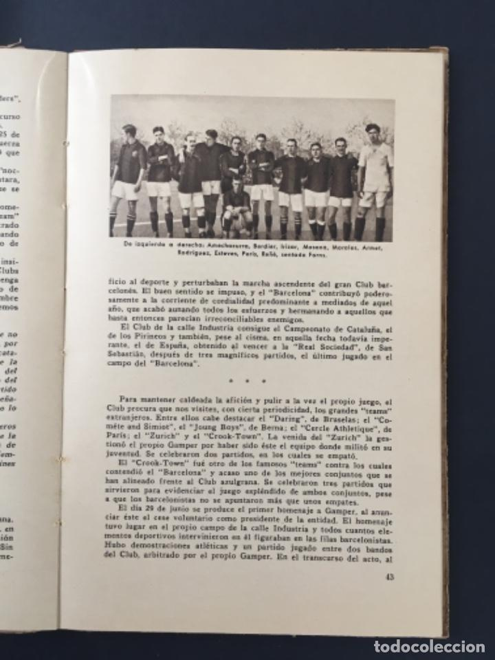Coleccionismo deportivo: CINCUENTA AÑOS DE F.C. BARCELONA.............1899-1949 BODAS DE ORO BARÇA - Foto 3 - 223803505