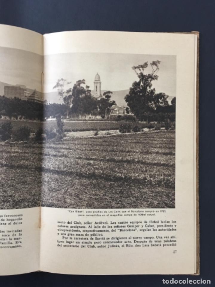 Coleccionismo deportivo: CINCUENTA AÑOS DE F.C. BARCELONA.............1899-1949 BODAS DE ORO BARÇA - Foto 4 - 223803505