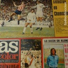 Coleccionismo deportivo: AS COLOR 29 MAYO 1973 SEMANARIO GRAFICO DEPORTIVO CAMPEONATO LIGA FUTBOL. Lote 225896710