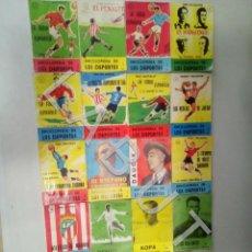 Coleccionismo deportivo: ENCICLOPEDIA DE LOS DEPORTES KASTIYO MARTIALAY OLANO COMPLETA A FALTA DEL NUM 2 FUTBOL CM0. Lote 227090000