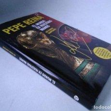 Collectionnisme sportif: PEPE REINA. EL MUNDO EN NUESTRAS MANOS. MUNDIAL DE FÚTBOL, LIBRO Y DVD. Lote 228611020
