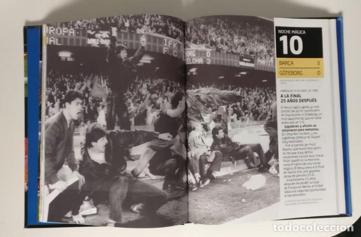 Coleccionismo deportivo: LIBRO - LAS NOCHES MÁGICAS DEL CAMP NOU -FC BARCELONA. EL MUNDO DEPORTIVO,2014 - Foto 2 - 228700265