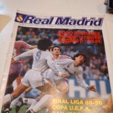 Colecionismo desportivo: G-59 REVISTA BOLETÍN INFORMATIVO DEL REAL MADRID CLUB DE FÚTBOL / BALONCESTO. 431. Lote 229921715