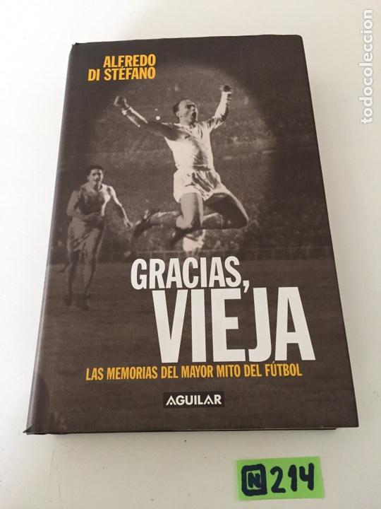 ALFREDO DI STEFANO GRACIAS VIEJA (Coleccionismo Deportivo - Libros de Fútbol)