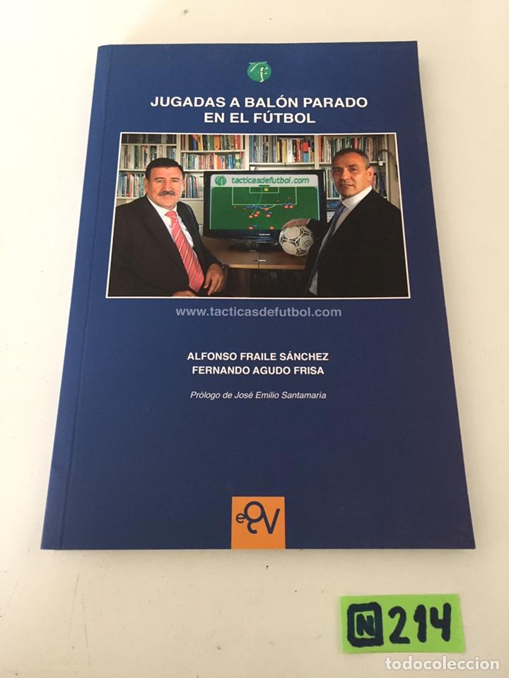 JUGADAS AL BALÓN PARADO EN EL FÚTBOL (Coleccionismo Deportivo - Libros de Fútbol)