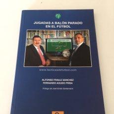 Coleccionismo deportivo: JUGADAS AL BALÓN PARADO EN EL FÚTBOL. Lote 230377680