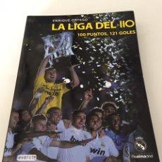 Coleccionismo deportivo: REAL MADRID LA LIGA DEL 110 ANIVERSARIO. Lote 230434690