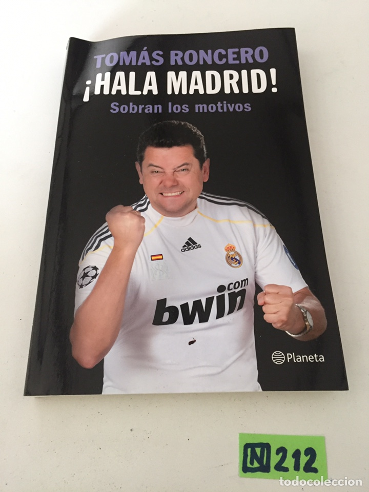 TOMÁS RONCERO HALA MADRID (Coleccionismo Deportivo - Libros de Fútbol)