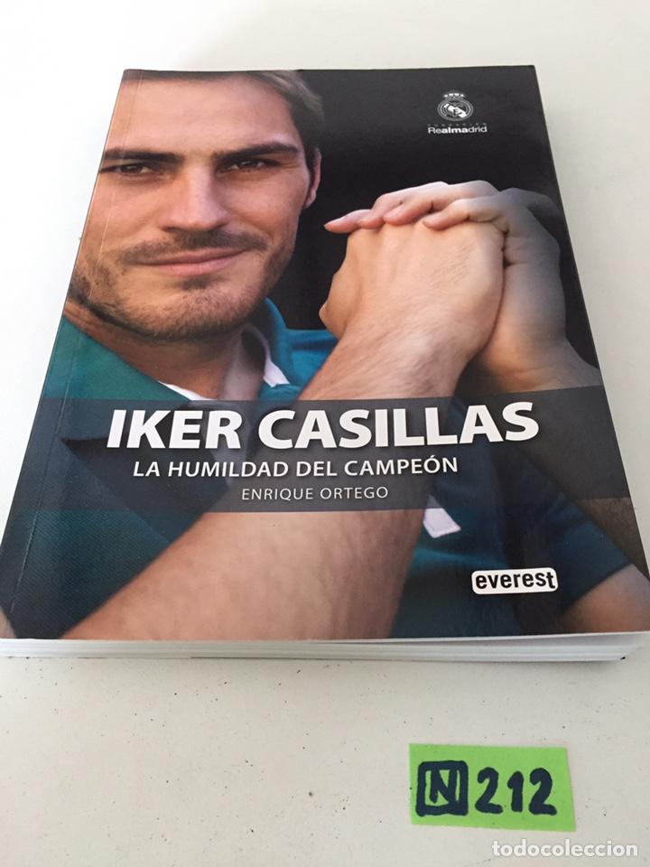 IKER CASILLAS LA HUMILDAD DEL CAMPEÓN (Coleccionismo Deportivo - Libros de Fútbol)
