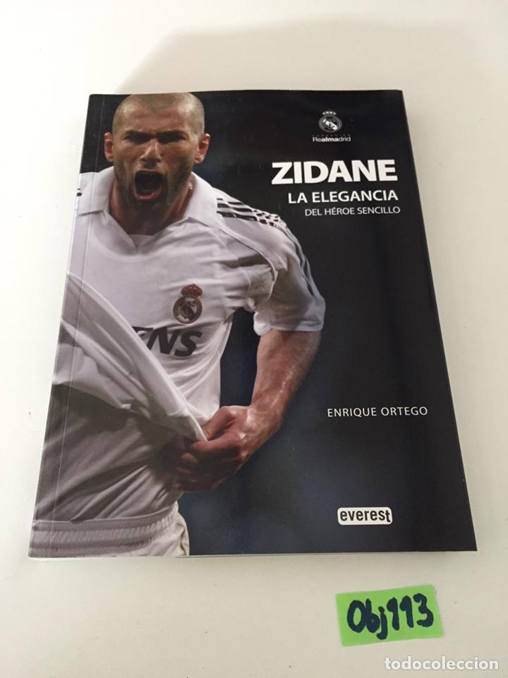 ZIDANE LA ELEGANCIA (Coleccionismo Deportivo - Libros de Fútbol)
