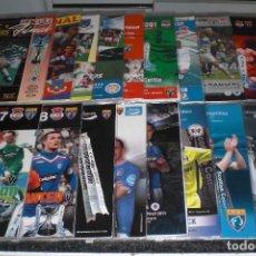 Coleccionismo deportivo: LOTE 21 PROGRAMAS FINALES COPA DE LA LIGA ESCOCIA (VER FOTOS DE PORTADAS). Lote 233223460