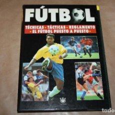 Coleccionismo deportivo: FÚTBOL , 25 FASCÍCULOS CON TAPAS Y SIN ENCUADERNAR , MICHAEL ROBINSON, RBA , AÑO 1996. Lote 233753965