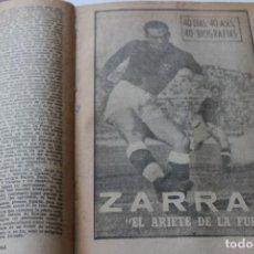 Coleccionismo deportivo: 40 DIAS, 40 ASES, 40 BIOGRAFIAS, 1963 DIARIO MARCA. Lote 235580495