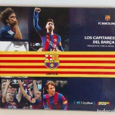 Coleccionismo deportivo: LOS CAPITANES DEL BARÇA / F.C.BARCELONA / ED: MUNDO DEPORTIVO-2019 / NUEVO.. Lote 256104640