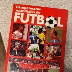 Coleccionismo deportivo: CAMPEONATOS MUNDIALES DE FUTBOL - MARTIN TYLER Y JOSÉ MARÍA CASANOVAS. Lote 237445355