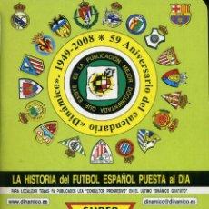 Coleccionismo deportivo: LA HISTORIA DEL FUTBOL ESPAÑOL PUESTA AL DIA - TOMO 38. Lote 238191675