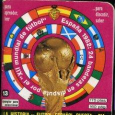 Coleccionismo deportivo: EN VENTA DIRECTA LA HISTORIA DEL FUTBOL ESPAÑOL PUESTA AL DIA - TOMO 13. Lote 238192845