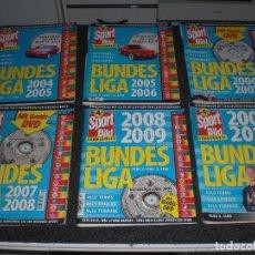 Coleccionismo deportivo: LOTE 6 GUIAS BUNDESLIGA SPORT BILD ALEMANIA 2004/05 A 2009/10. Lote 238564295