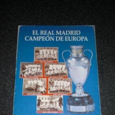 Coleccionismo deportivo: LIBRO ABC REAL MADRID CAMPEÓN DE EUROPA 1955-1996. Lote 238565565