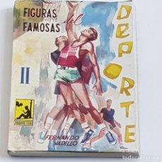 Coleccionismo deportivo: FIGURAS FAMOSAS DEL DEPORTE II, FERNANDO VADILLO, COLECCIÓN INQUIETUD Nº 8, ED. TIBIDABO, 1964, LEER. Lote 238799050