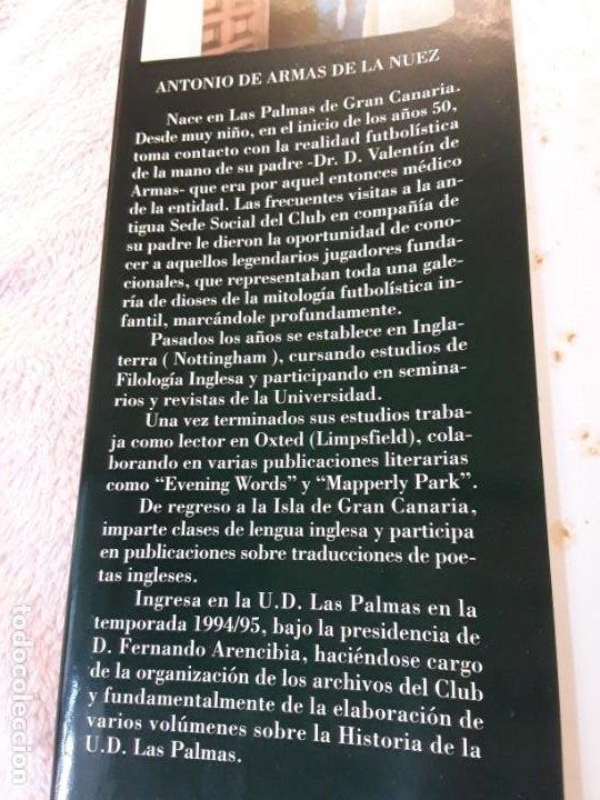 Coleccionismo deportivo: Historia de la Unión deportiva las palmas (2 tomos), de antonio de armas. Canarias - Foto 3 - 240109030