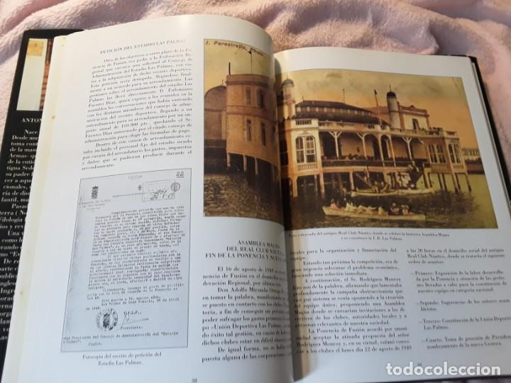 Coleccionismo deportivo: Historia de la Unión deportiva las palmas (2 tomos), de antonio de armas. Canarias - Foto 5 - 240109030