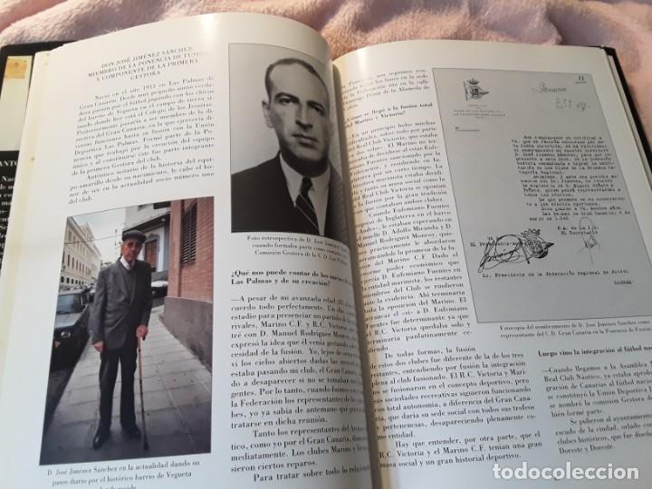 Coleccionismo deportivo: Historia de la Unión deportiva las palmas (2 tomos), de antonio de armas. Canarias - Foto 6 - 240109030
