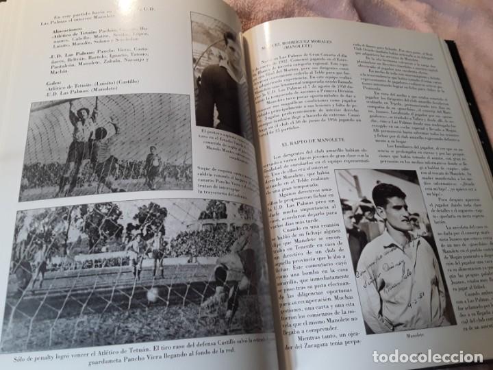 Coleccionismo deportivo: Historia de la Unión deportiva las palmas (2 tomos), de antonio de armas. Canarias - Foto 12 - 240109030