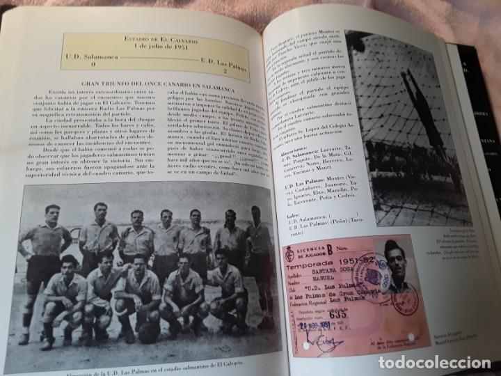 Coleccionismo deportivo: Historia de la Unión deportiva las palmas (2 tomos), de antonio de armas. Canarias - Foto 13 - 240109030