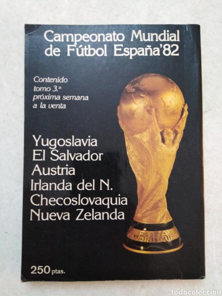 Coleccionismo deportivo: 24 selecciones de oro España 82 número 2 ( 70 páginas ) - Foto 3 - 241543635