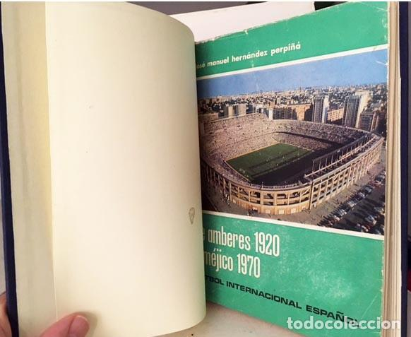 Coleccionismo deportivo: De Amberes 1920 a Méjico 1970. (Futbol Internacional español) Fotos. Retratos. Autógrafo del autor - Foto 2 - 242323525