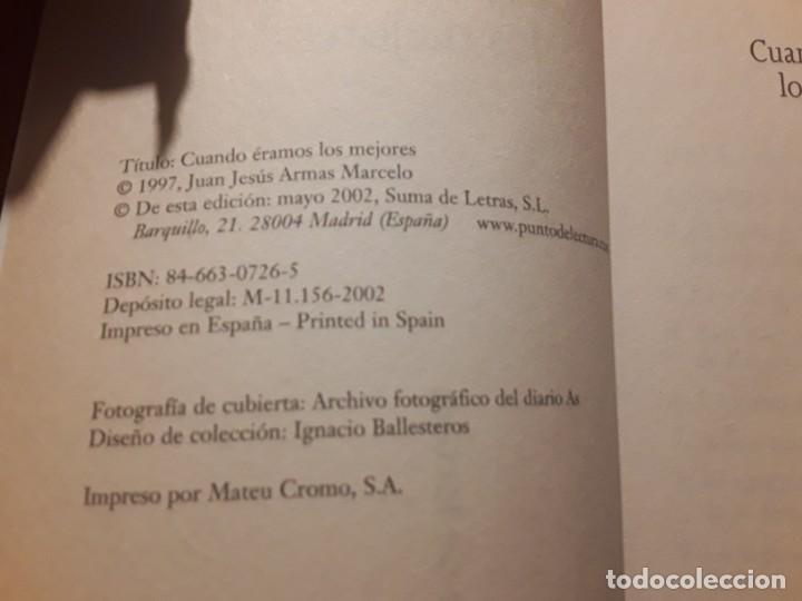 Coleccionismo deportivo: Cuando éramos los mejores, de j. J. Armas marcelo. Dedicado. Union deportiva las Palmas, Canarias - Foto 3 - 242895145