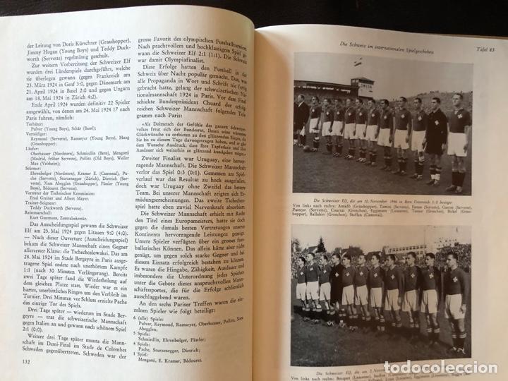 Coleccionismo deportivo: LIBRO FUTBOL: EL LIBRO DE ORO DEL FUTBOL SUIZO DEL AÑO 1953 - Foto 2 - 243606575