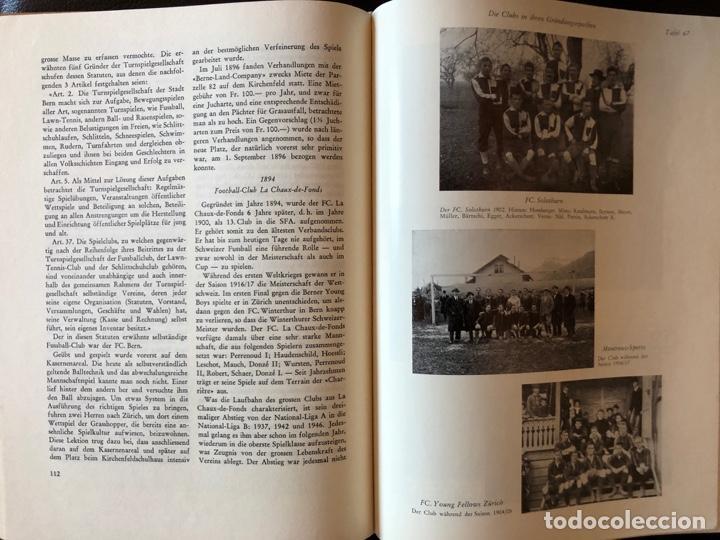 Coleccionismo deportivo: LIBRO FUTBOL: EL LIBRO DE ORO DEL FUTBOL SUIZO DEL AÑO 1953 - Foto 3 - 243606575